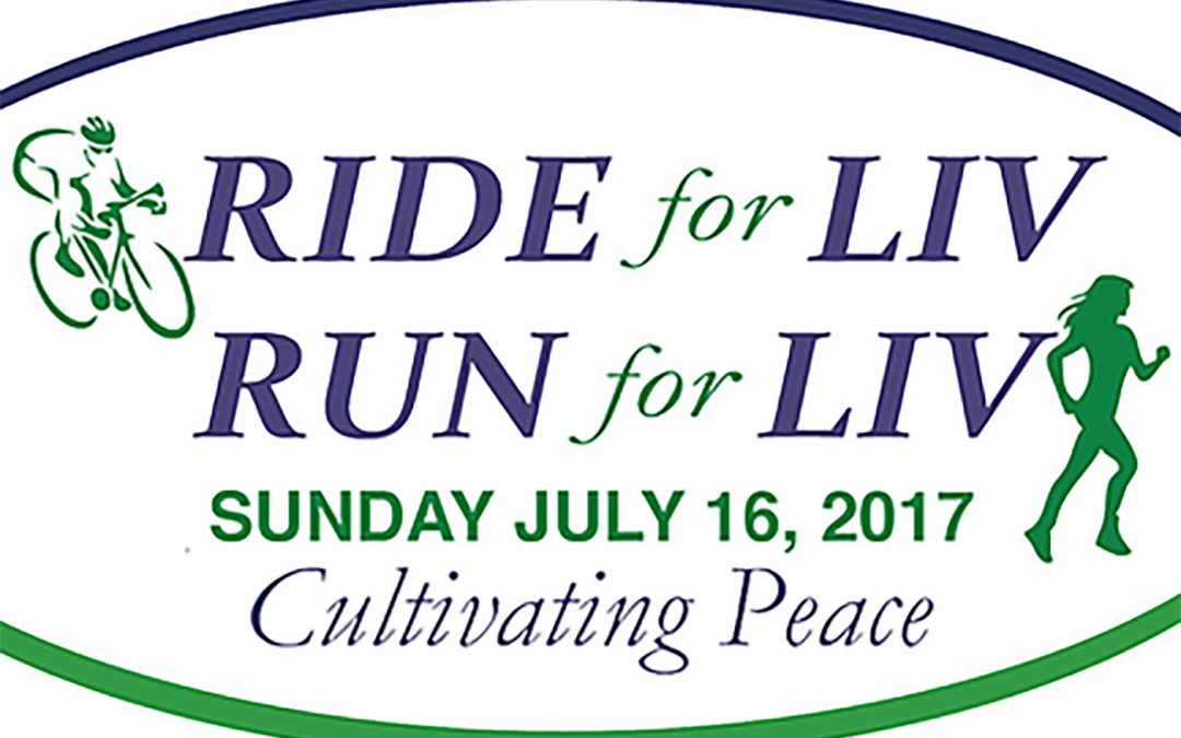 Join us at the Live for Liv 2017 Run, Ride Walk Sunday July 16th